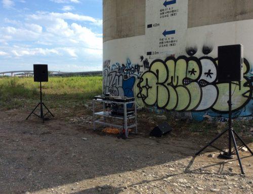 格安PAセットとDJ機材、DJ台&発電機をレンタル@水と緑の風広場