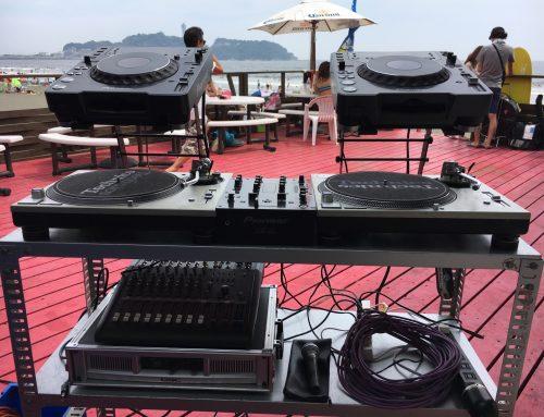 DJ機材レンタル @ 鵠沼海岸海の家