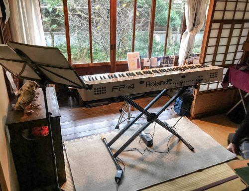 電子ピアノレンタル @ 鎌倉古民家スタジオイシワタリ