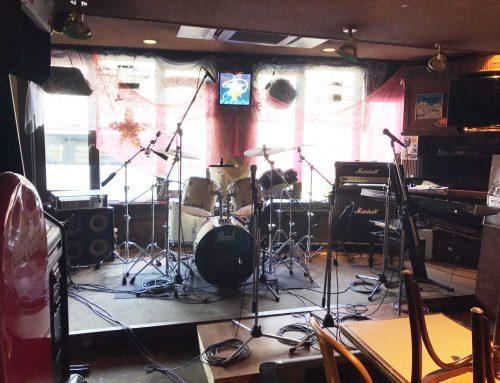 藤沢市にあるダイニングバー、BECKにバンドセットレンタル&音響オペレートをさせていただきました。
