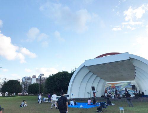 バンド機材レンタル&音響オペレート @横須賀三笠公園野外ステージ