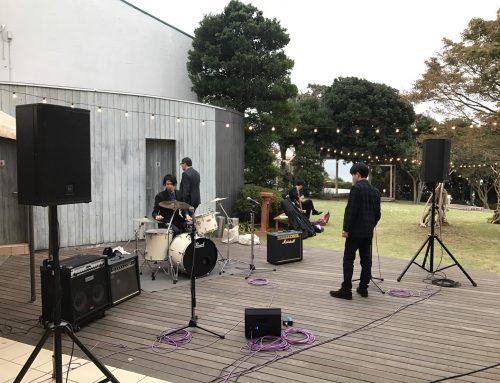 ご結婚式二次会向けバンドセットレンタル @ラフィーノオーシャン二宮