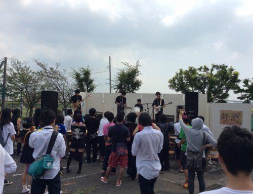 文化祭野外ステージの音響機材、楽器一式レンタル&オペレート@寒川高校