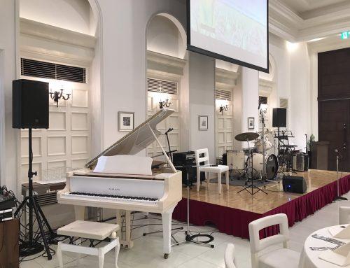 バンド機材レンタル&音響オペレート @茅ヶ崎迎賓館