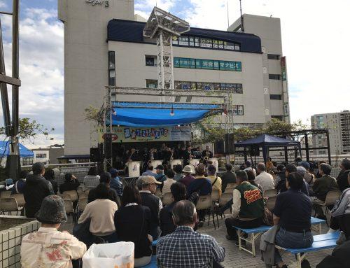 戸塚遊歩フェスティバルにドラム、ベースアンプ、電子ピアノをレンタルに行ってきました!