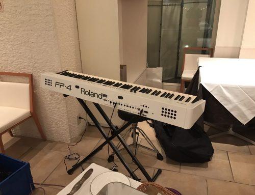 結婚式二次会用電子ピアノレンタル @L'EGLISE鎌倉