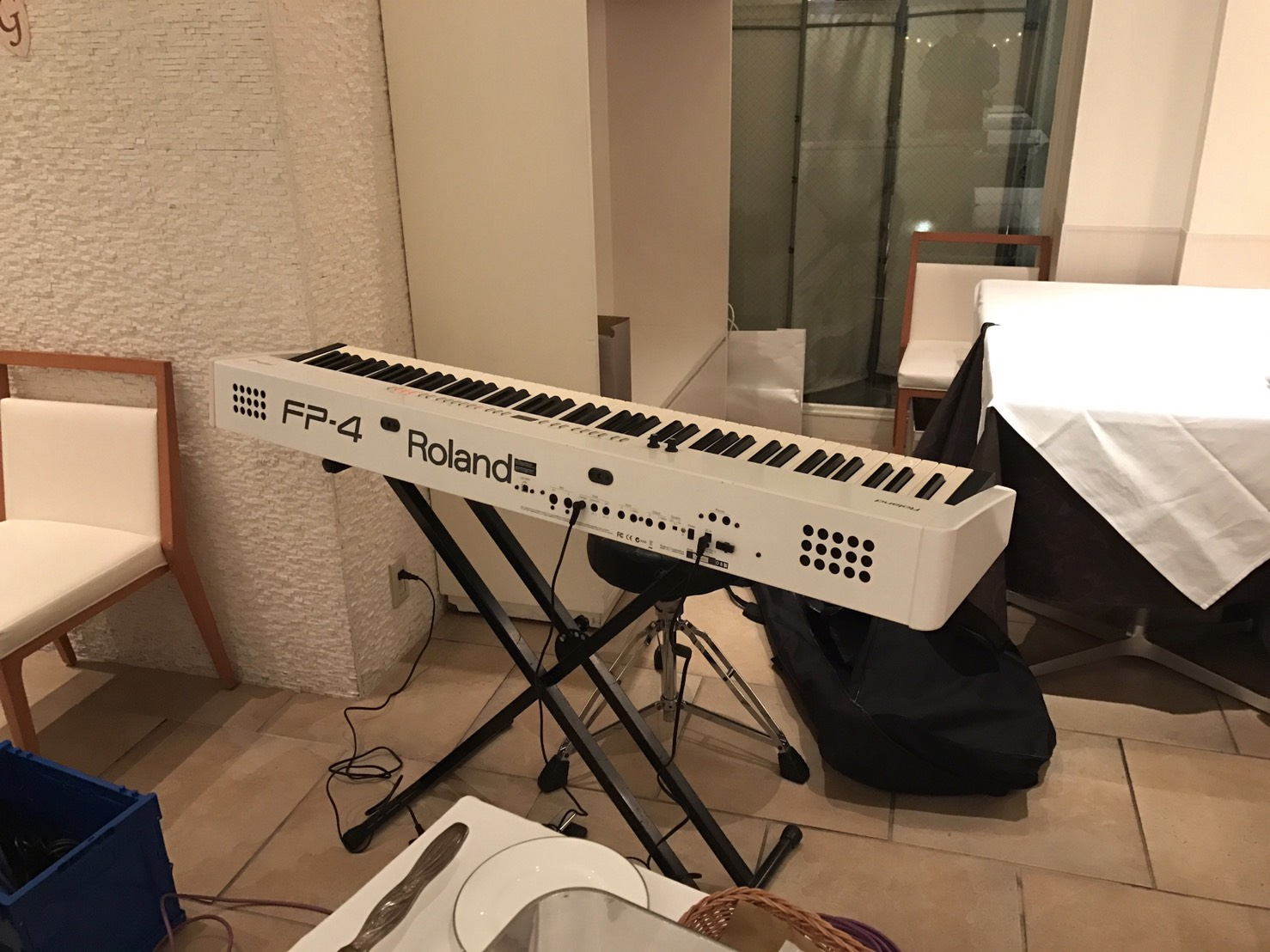 Roland FP-4 電子ピアノ セッティング画像