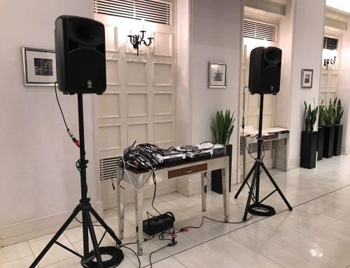ご結婚式余興DJ向けPAセットレンタル @茅ヶ崎迎賓館