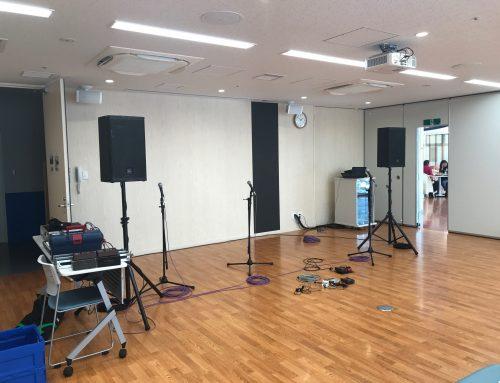 ウクレレライブにPA機材レンタル&オペレート @ONE FOR ALL横浜 地域交流施設