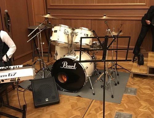 ドラムセット&キーボード用スピーカーレンタル @ヒルトン小田原リゾート