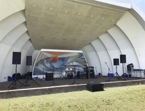 バンドセットレンタル&オペレート @横須賀三笠公園