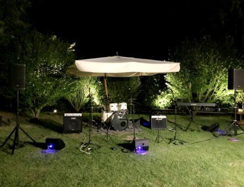 ご結婚式披露宴向けバンド・PA機材一式レンタル&オペレート @アマンダンヒルズ厚木