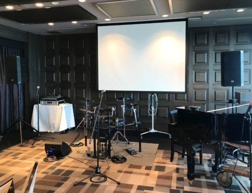 ご結婚式披露宴向けPA機材&電子ドラムセットレンタル @ホテルモントレ横浜