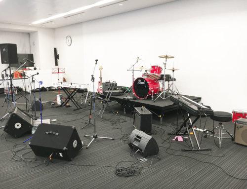 機材レンタル&音響オペレート @横須賀市 企業クリスマスパーティ