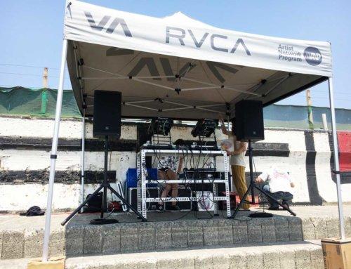 DJ&PA機材レンタル @鵠沼海岸 野外イベント