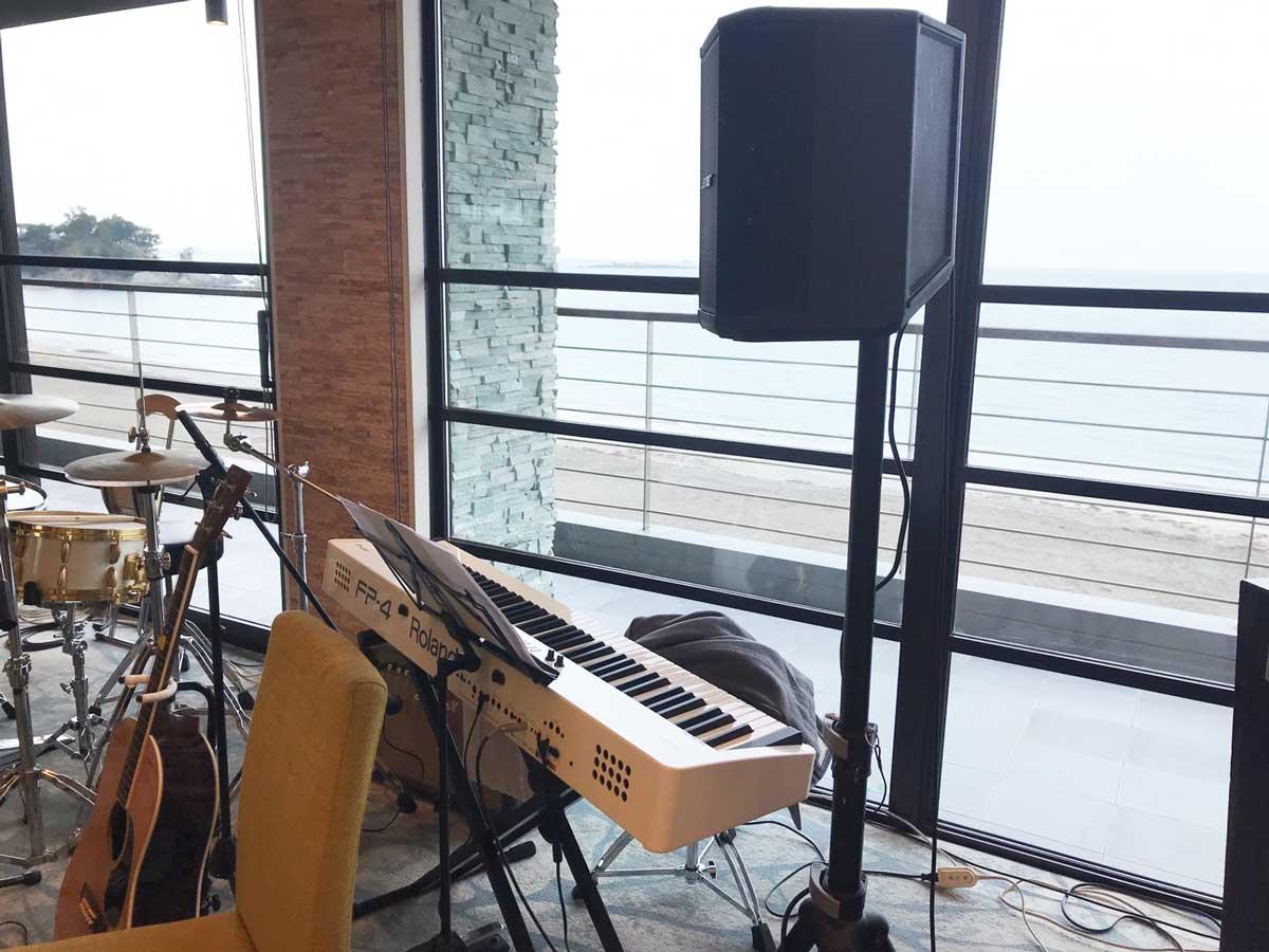 ご結婚式向け電子ピアノレンタル @スケープス ザ スィート(SCAPES THE SUITE) 葉山