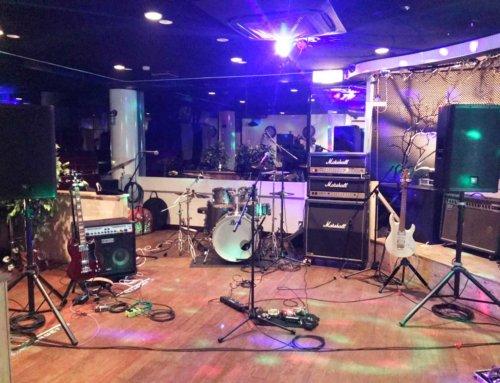 バンド機材レンタル&音響オペレート @バーキャプテン 茅ヶ崎