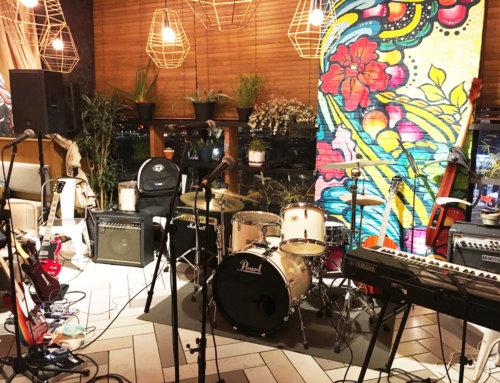 ご結婚式二次会向けバンド機材レンタル @Kaka'ako Dining & Cafe(カカアコダイニング) マリン&ウォーク