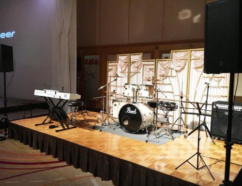ご結婚式披露宴向けバンド機材レンタル @横浜ロイヤルパークホテル 3F鳳翔